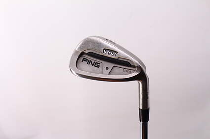 Ping S58 Single Iron 8 Iron True Temper Dynamic Gold S300 Steel Stiff Right Handed Black Dot 36.25in
