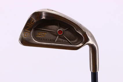 Ping ISI Nickel Single Iron 6 Iron Stock Graphite Shaft Graphite Stiff Right Handed Red dot 37.5in