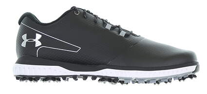 New Mens Golf Shoe Under Armour UA Fade RST 2 11.5 Black 3021527-001 MSRP $110