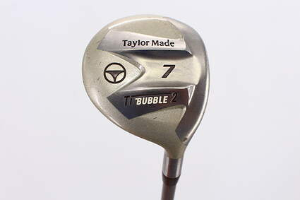 TaylorMade Ti Bubble 2 Fairway Wood 7 Wood 7W TM Bubble 2 Graphite Ladies Right Handed 41.25in