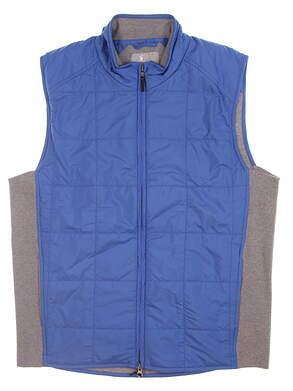 New Mens Fairway & Greene Hybrid McCallan Wind Vest Medium M Blue H31292 MSRP $235