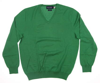 New Mens Ralph Lauren Golf Sweater X-Large XL Green MSRP $125