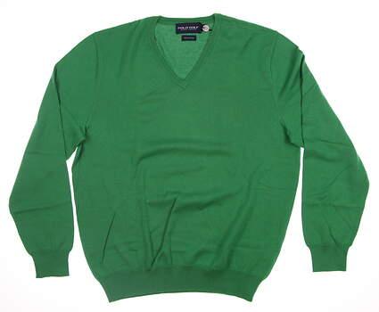 New Mens Ralph Lauren Sweater Medium M Green MSRP $120