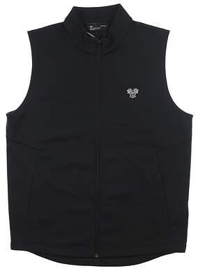 New W/ Logo Mens Under Armour Storm Vest Large L Black UM1958 MSRP $100