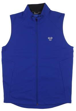 New W/ Logo Mens Under Armour Storm Vest Medium M Blue UM1958 MSRP $100