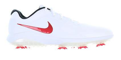 New Mens Golf Shoe Nike Vapor Pro 13 Medium White/Red AQ2197 104 MSRP $130