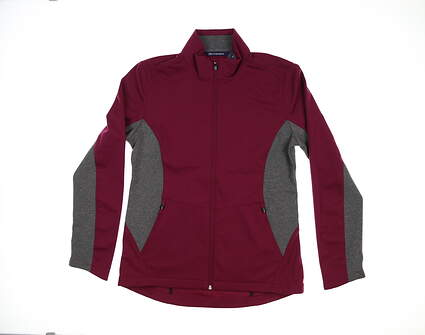 New Womens Cutter & Buck Navigate Soft Shell Jacket Medium M Affinity LCO00032 MSRP $115