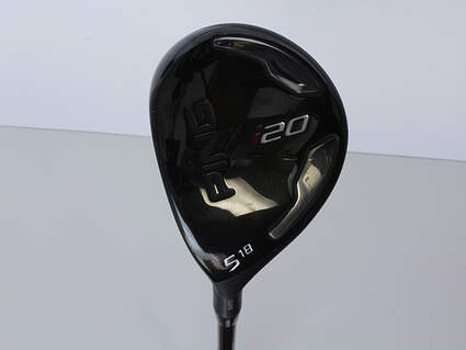 Ping I20 Fairway Wood 5 Wood 5W 18° Project X 5.5 Graphite Black Graphite Regular Left Handed 42.0in