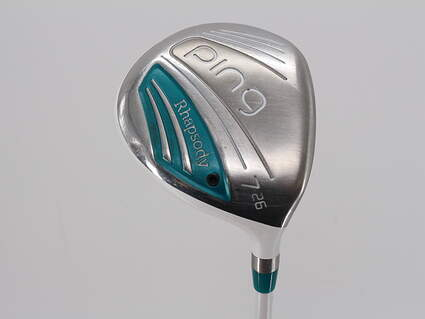 Ping 2015 Rhapsody Fairway Wood 7 Wood 7W 26° Ping ULT 220F Lite Graphite Ladies Right Handed 35.75in