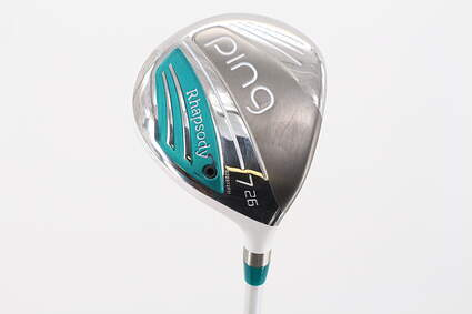 Ping 2015 Rhapsody Fairway Wood 7 Wood 7W 26° Ping ULT 220F Ultra Lite Graphite Ladies Right Handed 41.25in