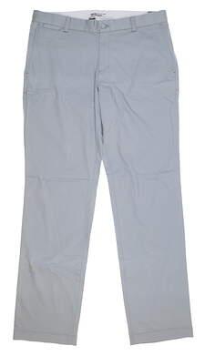 New Mens Nike Flat Front Golf Pants 34x32 Gray 639781 088 MSRP $80