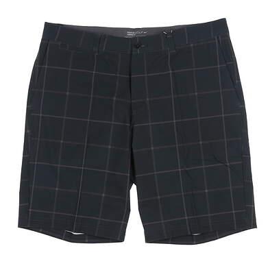 New Mens Nike Golf Shorts 35 Black 725700 MSRP $85