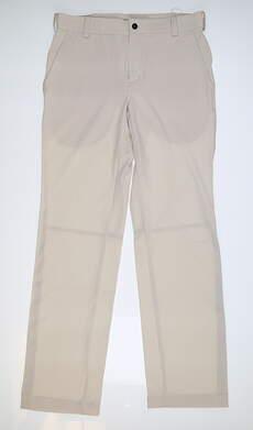 New Mens Nike Summer Tech Golf Pants 30x32 Tan 509742 072 MSRP $85