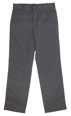 New Mens Nike Flat Front Tech Golf Pants 34x32 Gray 472532 021 MSRP $75