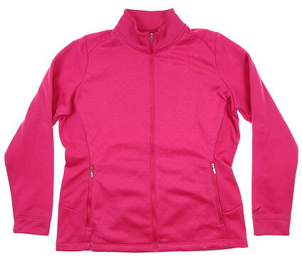 New Womens Nike Tour Thermal Jacket X-Large XL Pink 483705 MSRP $90