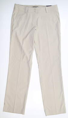 New Womens Nike Modern Rise Tech Golf Pants 8 Tan 618147 072 MSRP $60