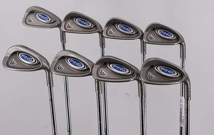 Ping i5 Iron Set 4-PW GW True Temper Steel Stiff Right Handed Green Dot 37.75in