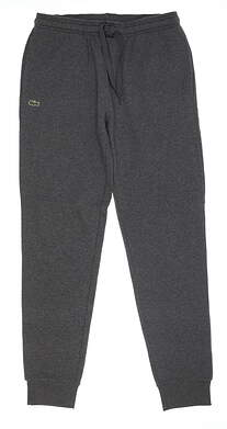 New Mens Lacoste Jogger Large L Gray GL9704 MSRP $98