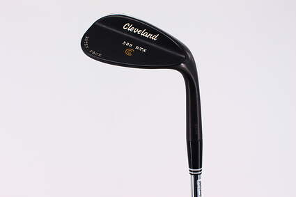 Cleveland 588 RTX Black Pearl Wedge Sand SW 56° 14 Deg Bounce True Temper Dynamic Gold Steel Wedge Flex Right Handed 34.5in