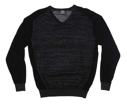 New Mens Ping Golf Sweater Large L Black MSRP $120