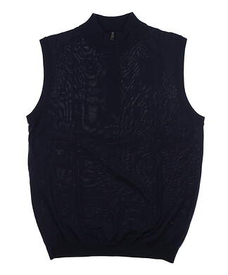 New Mens Ping Sweater Vest Large L Navy Blue MSRP $99