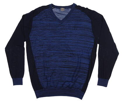 New Mens Ping Golf Sweater Large L Blue MSRP $120