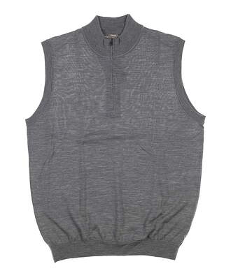 New Mens Ping Sweater Vest Large L Gray S03297 MSRP $99