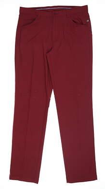 New Mens Ping Lennox Trouser 34 x33 Redwood S03189 MSRP $99