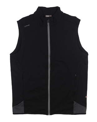 New Mens Ping Remus Vest Large L Black S03258 MSRP $89
