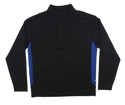 New Mens Ping 1/2 Zip Pullover Large L Black S03275 MSRP $90
