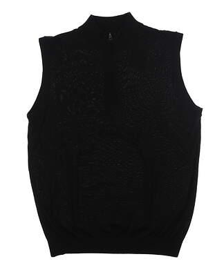 New Mens Ping Sweater Vest Large L Black MSRP $99