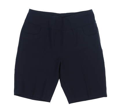 New Womens Ping Golf Shorts 6 Navy Blue S93426 MSRP $60