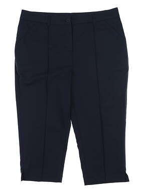 New Womens Ping Golf Capris 4 Navy Blue P93365 MSRP $70