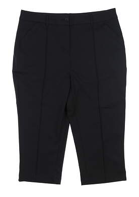New Womens Ping Golf Capris 4 Black P93365 MSRP $70