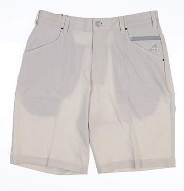 New Mens Adidas Golf Shorts 32 Gray B82498 MSRP $65
