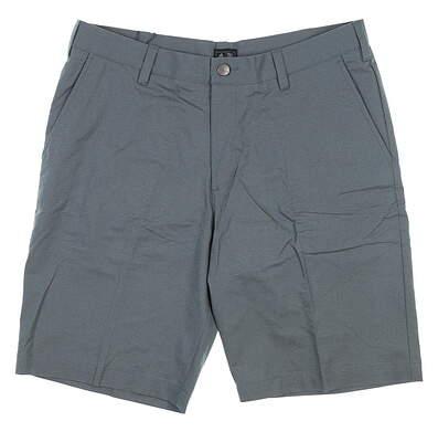 New Mens Adidas Golf Shorts 32 Blue B32367 MSRP $65