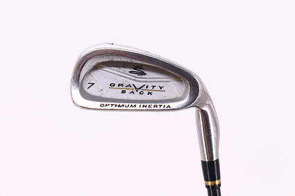 Cobra Gravity Back Single Iron 7 Iron Stock Graphite Shaft Regular Right Handed 37.0in