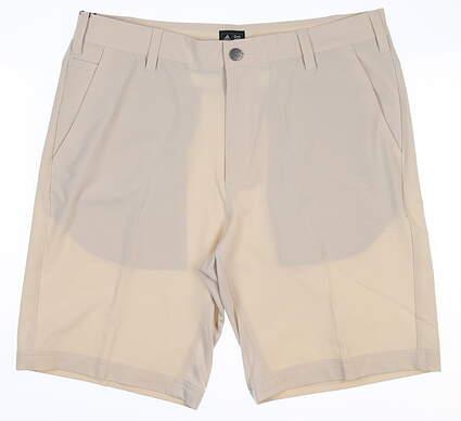 New Mens Adidas Climacool Airflow Shorts 32 Ecru Z98333 MSRP $65