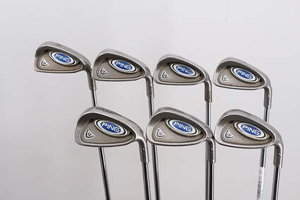 Ping i5 Iron Set 4-PW Ping CS Lite Steel Regular Right Handed Silver Dot 38.75in