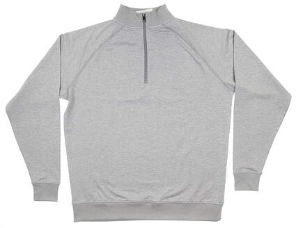 New Mens Footjoy 1/2 Zip Pullover Large L Gray 23320 MSRP $95