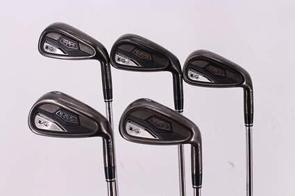 Adams Idea Tech V4 Iron Set 6-PW Adams Performance Step 75G Steel Regular Right Handed 39.0in