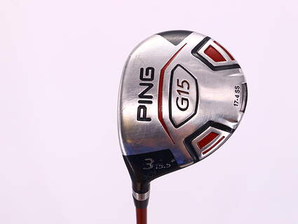 Ping G15 Fairway Wood 3 Wood 3W 15.5° Ping TFC 149F Graphite Stiff Left Handed 42.75in