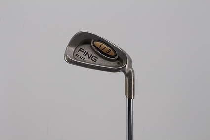 Ping i3 Blade Single Iron 6 Iron True Temper Steel Stiff Right Handed Black Dot 37.0in