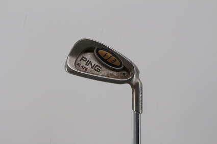 Ping i3 Blade Single Iron 4 Iron Ping JZ Steel Stiff Right Handed Black Dot 38.25in