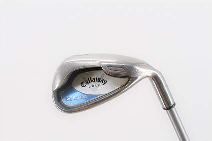 Callaway 2002 Big Bertha Single Iron 9 Iron Callaway 55 Gram Graphite Ladies Right Handed 35.25in
