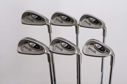 Ping i3 + Iron Set 5-PW Ping CS Lite Steel Stiff Right Handed Green Dot 37.75in