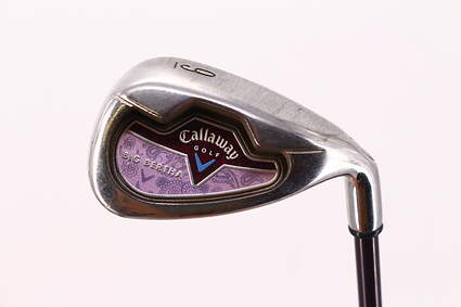 Callaway 2006 Big Bertha Single Iron 9 Iron Callaway Stock Graphite Graphite Ladies Right Handed 35.0in