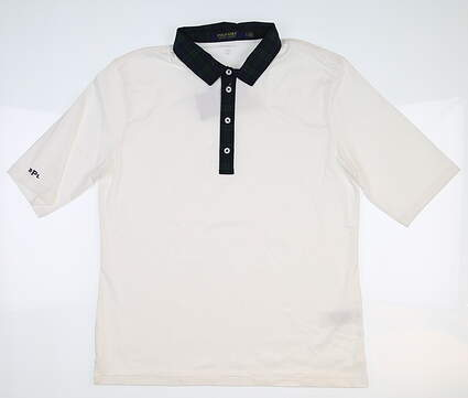 New Womens Ralph Lauren Golf Polo Large L White MSRP $98.50
