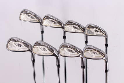 Cobra AMP Cell Silver Iron Set 4-PW GW True Temper Dynalite 90 Steel Regular Right Handed 38.5in