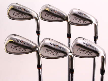 TaylorMade Supersteel Iron Set 5-PW TM Rifle Precision 80 Steel Regular Right Handed 37.5in